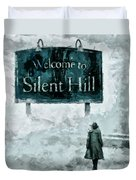 Welcome To Silent Hill Duvet Cover