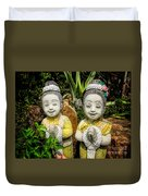 Welcome To Thailand Duvet Cover by Adrian Evans