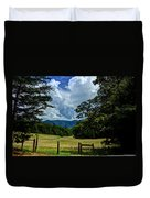 Welcome To The Smokies Duvet Cover