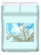 Welcome Vintage Spring Duvet Cover