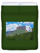 Welcoming Mesa To Mesa Verde National Park-colorado- Duvet Cover