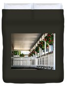 Welcoming Porch Duvet Cover