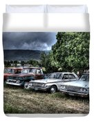 Well Used Cars For Sale Duvet Cover