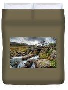 Welsh Bridge Duvet Cover by Adrian Evans