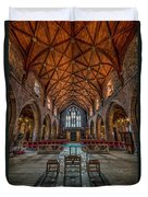 Welsh Cathedral  Duvet Cover