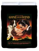 Welsh Corgi Cardigan Art Canvas Print - Gone With The Wind Movie Poster Duvet Cover