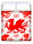 Welsh Dragon Duvet Cover