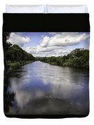 Welsh River Scene Duvet Cover