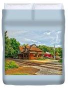 Wenonah Train Station Duvet Cover
