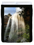 Wentworth Waterfall Blue Mountains Duvet Cover
