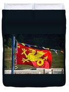 Wessex Wyvern Flag Duvet Cover