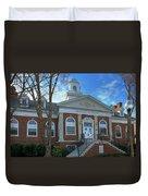 West Avenue Library Duvet Cover