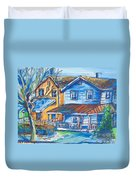 West Cape May Nj Duvet Cover