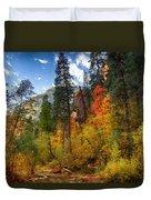 West Fork Wonders  Duvet Cover by Saija  Lehtonen