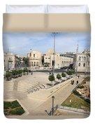 West Jerusalem Duvet Cover