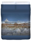 West Pierhead In Ice Duvet Cover