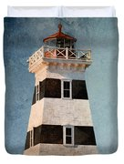 West Point Lighthouse 7 Duvet Cover