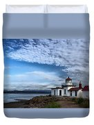 West Point Lighthouse II Duvet Cover