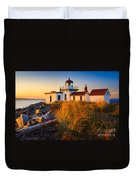 West Point Lighthouse Duvet Cover