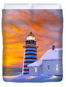 West Quoddy Duvet Cover