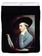 West Self-portrait Duvet Cover