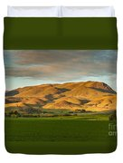 West Side Of Squaw Butte Duvet Cover
