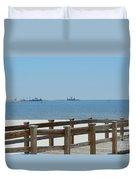 West Side Pier 1 Duvet Cover