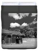 West Virginia Barn Duvet Cover