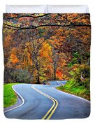 West Virginia Curves 2 Duvet Cover