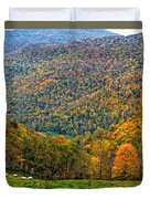 West Virginia High Duvet Cover