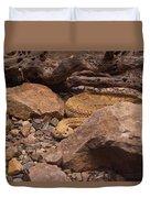 Western Diamondback Rattlesnake Duvet Cover