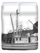 Western Flyer Purse Seiner Tacoma Washington State March 1937 Duvet Cover