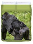 Western Lowland Gorilla 1 Duvet Cover