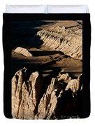 Western Tibet Geology Duvet Cover