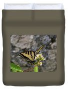 Western Tiger Swallowtail Butterfly 2 Duvet Cover