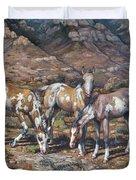 Western Treasures Nursery Rhymes Duvet Cover