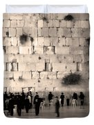 Western Wall Photopaint One Duvet Cover