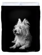 Westie Duvet Cover by Catherine Reusch  Daley