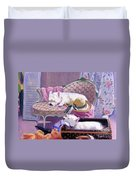 Westies Home Duvet Cover