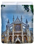 Westminster Abbey - North Transept Duvet Cover by Skye Ryan-Evans