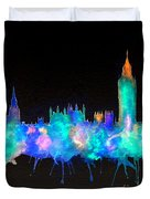 Westminster And Big Ben - Nighttime 1 Duvet Cover