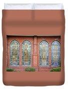Westminster Windows Duvet Cover