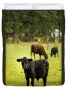 Wet Calf Duvet Cover
