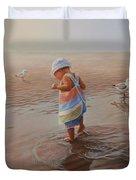 Wet Feet Duvet Cover