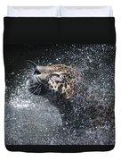 Wet Jaguar  Duvet Cover