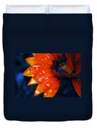 Wet Petals Duvet Cover