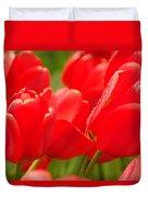 Wet Tulips Duvet Cover