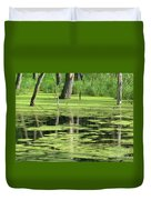 Wetland Reflection Duvet Cover