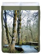 Wetlands In March Duvet Cover