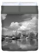 Wey Canal Ripley Surrey Duvet Cover